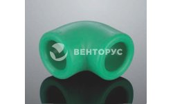 Угольник Aquatherm Fusiotherm green pipe 90°