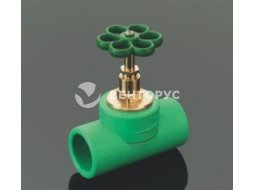 Вентиль Aquatherm Fusiotherm green pipe прямой